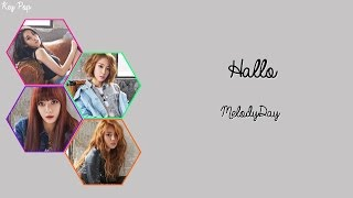 MelodyDay - Hallo Color Coded [Han|Rom|Eng Lyrics]