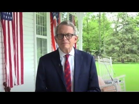 Ohio Governor discusses COVID-19 diagnosis