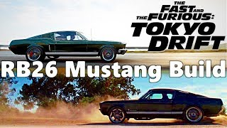 Forza Horizon 4: Fast & Furious Tokyo Drift Mustang!! RB26 SWAP AND FULL BUILD