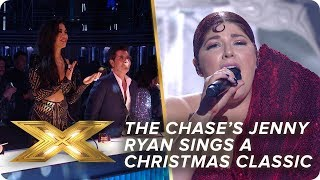 The Chase's Jenny Ryan sings a Christmas classic | Final | X Factor: Celebrity