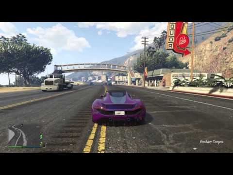GTA 5 | HOW TO RUN YOURSELF OVER WITH YOUR OWN CAR