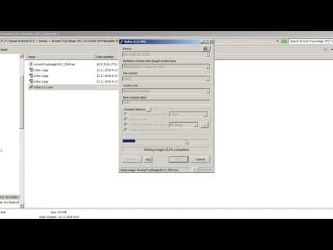 acronis bootable usb from iso rufus