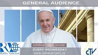 UŽIVO: Opća audijencija s Papom Franjom