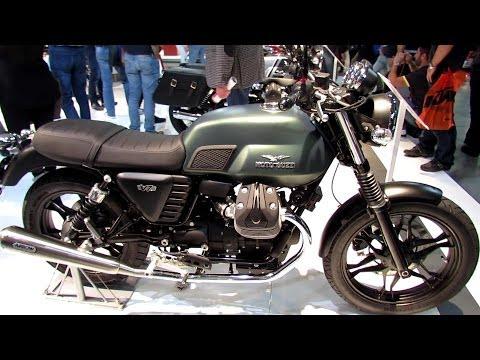 2014 Moto Guzzi V7 Stone Walkaround
