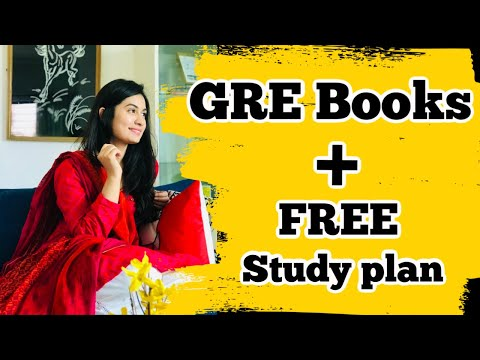 GRE Books/Resources + FREE Study Plan  Beginner's Guide to GRE Series  Part 2