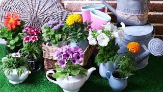 30 самых оригинальных цветочных горшков  Вазоны ФОТО