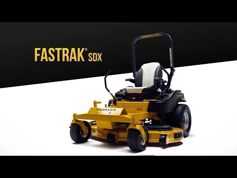 2020 Hustler Turf Equipment FasTrak SDX 54 in. Kawasaki 22 hp in Hillsborough, New Hampshire - Video 1