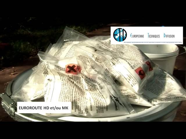 EUROROUTE HD - Marquage couleur sur enrobé neuf et/ou ancien