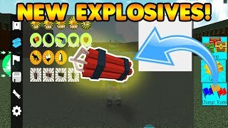 *NEW* EXPLOSIVES IN BUILD A BOAT FOR TREASURE! (LEAKED)