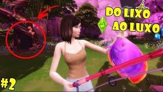 The Sims 4: DO LIXO AO LUXO #2 - ENCONTREI UM LUGAR SECRETO? [c/Facecam]