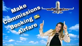 HOW to MAKE MONEY booking flights Only as a Travel agent!!