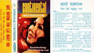 Sơn Ca – Tình Khúc Trương Chi Mỵ Nương – Thu Âm Trước 1975