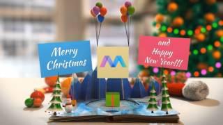 Amazing Christmas Greetings Video