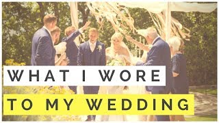 What I Wore To MY WEDDING - Groom Attire