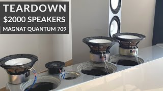 TEARDOWN $2000 Magnat Quantum 709 Speakers - What's Inside?