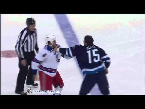 Tanner Glass vs. Brandon Prust