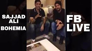 Sajjad Ali And Bohemia Go LIVE On Facebook #TAMASHA