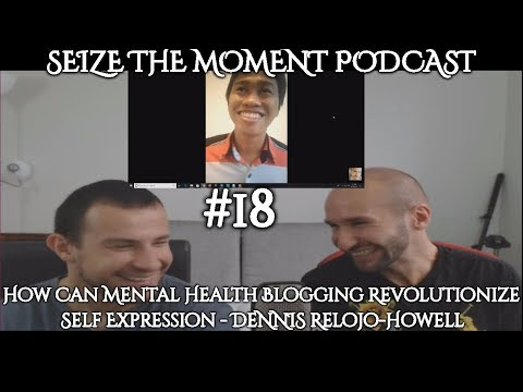 STM Podcast #18: How Can Mental Health Blogging Revolutionize Self Expression? -Dennis Relojo-Howell