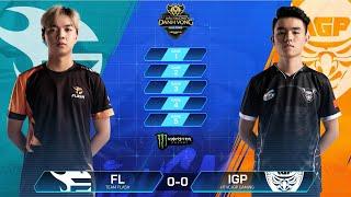 Team Flash vs HTVC IGP Gaming [Vòng 4 - 07.08] - Đấu Trường Danh Vọng Mùa Đông 2019