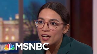 AOC: Can You Be A Democratic Socialist And A Capitalist? 'It's Possible' | MTP Daily | MSNBC
