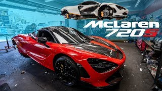 #RDBLA 2 OF THE MOST MODDED 720S MCLARENS, BILLIE EILISH CAR REPAIRS, CHEVELLE SS, 900HP GTR.