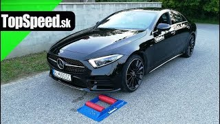 Mercedes CLS 4matic 4x4 intelligence test - TopSpeed.sk
