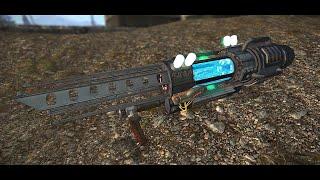 FNV Arsenal Weapons Overhaul - Tesla Cannon