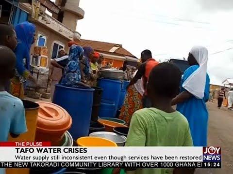 Tafo Water Crisis - The Pulse on JoyNews (30-5-18)
