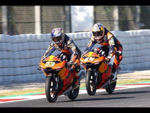 Red Bull KTM Ajo test - Catalunya