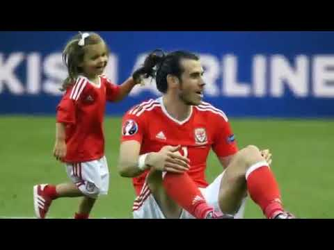 Euro 2016 Adorable Pics Of Gareth Bale & Daughter Melt Hearts Across The World1