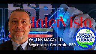 FSP POLIZIA VALTER MAZZETTI a Radio Padania su raduno antifascista a Cagliari