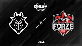 G2 Esports vs. forZe - Consulate - Rainbow Six Pro League - Season XI - EU
