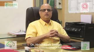 Dr. Hrishikesh Soman - Principal, Symbiosis College of Arts and Commerce
