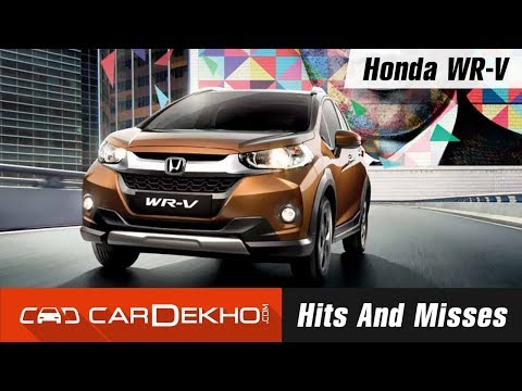 Honda WR-V Hits And Misses
