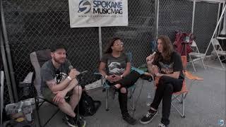 BAD SEED RISING Interview - Octapalooza 2017 (Spokane, WA)