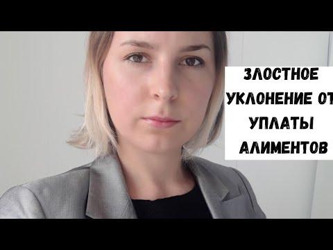 Что такое Злостное уклонение от уплаты алиментов? Семейный юрист Москва