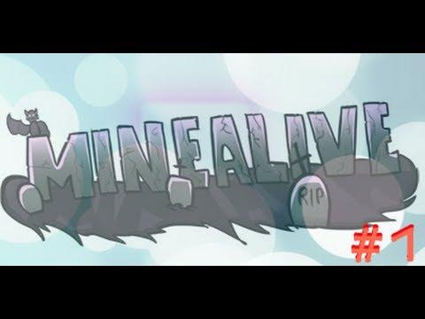 Minecraft MineAlive #1 ( Ух....Хардкорный сервер! )