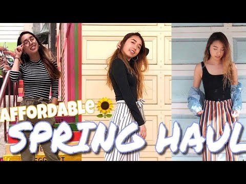 Affordable SPRING HAUL (Try-on + Review) (Shein, Forever 21, Goodwill)