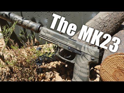 Airsoftová pistole MK23