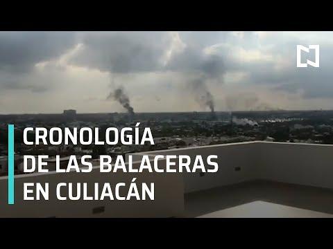 Crónica De Las Balaceras En Culiacán Testigo De Las Balaceras En Culiacán En Punto