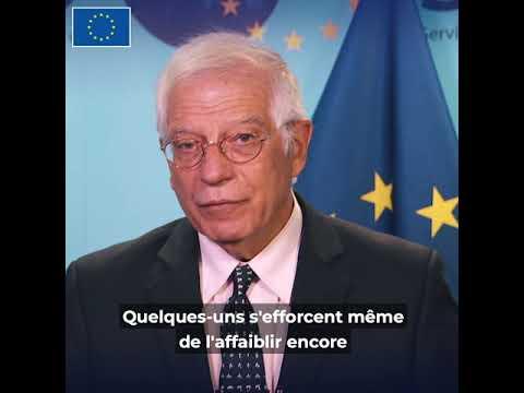 Message du Haut Représentant de l'UE Borrell sur la 75e Assemblée générale des Nations Unies