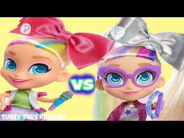 Holiday 2019 Top Toys: JoJo Siwa Dolls, Bow Unboxing, JoJo VS JoJo Siwanators Imposters Tubey Toys