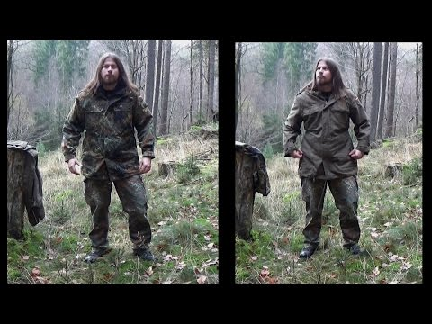 Ausrüstungskunde #02 - BW Parka Oliv vs. Flecktarn