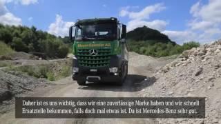 Turbe Retarder-Kupplung In Einem 5 Achser Arocs Mercedes-Benz