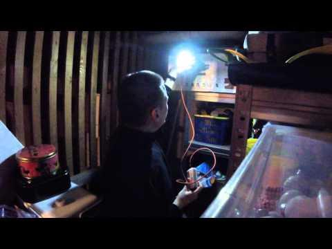 ALVA USB LED Lampe   Mobile Beleuchtung für eine Powerbank
