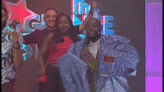 Daddy FREEZE , BENNEDICTA , CHRISTIAN , CHRISTOPHER , CORNEL OGAR and LINA OGAR on  THE OGBONGE SHOW