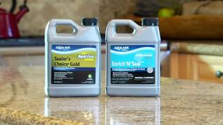 Protect Your Stone With Aqua Mix® Sealer's Choice® Gold