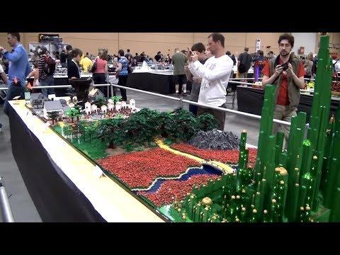 Huge Lego Wizard Of Oz Build Includes A Motorised Tornado