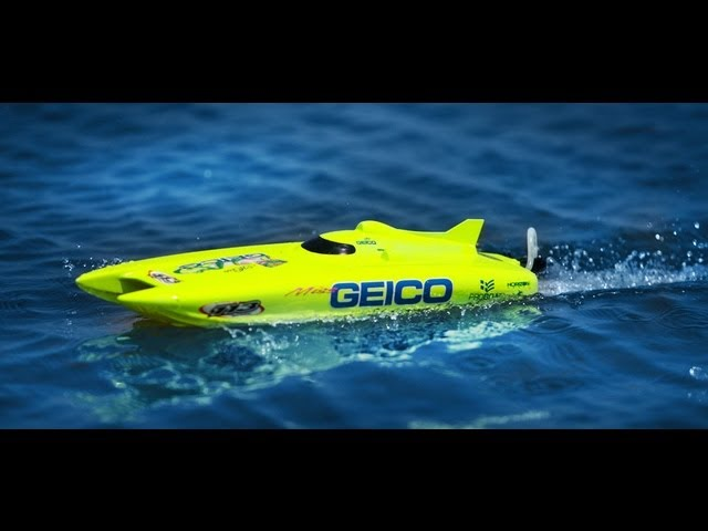 """After driving review to the Miss Geico 17"""" RC boat by ProBoat"""