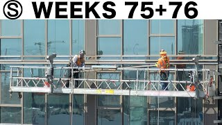 Construction time-lapses with closeups (compilation): Weeks 75+76 of the Ⓢ-series